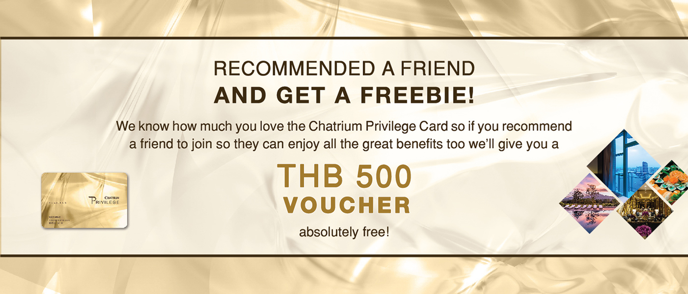 Voucher 500 bath absolutely free